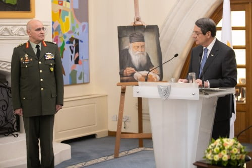 Αναλαμβάνει καθήκοντα ο νέος Αρχηγός της Εθνικής Φρουράς Αντιστράτηγος Δημόκριτος Ζερβάκης (ΦΩΤΟΣ)