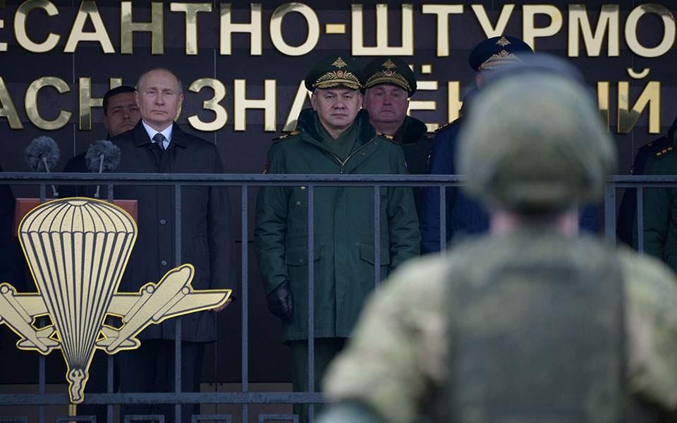 Μαντέψτε σε ποιον στέλνει το μήνυμα ο Πούτιν: Κανείς δεν θα πρέπει να διανοείται πόλεμο με τη Ρωσία
