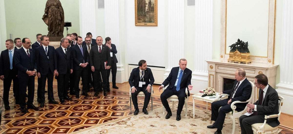 Γιατί Ερντογάν και ΗΠΑ έχασαν από τη χθεσινή συμφωνία στη Μόσχα για το Ιντλίμπ