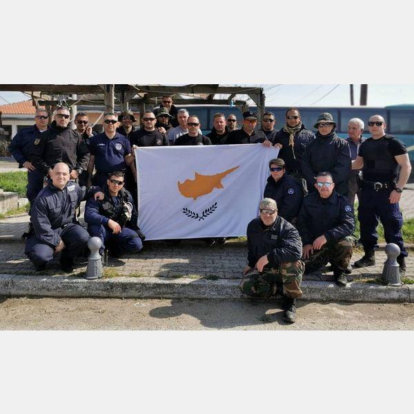 Η αποστολή της Αστυνομίας Κύπρου στον Έβρο