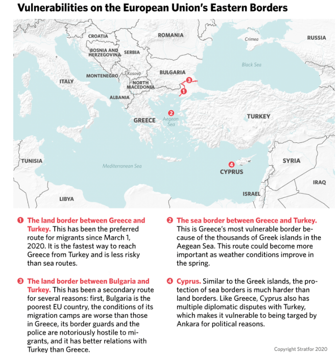 Stratfor : Στα πρόθυρα μιας νέας μεταναστευτικής κρίσης η Ευρώπη