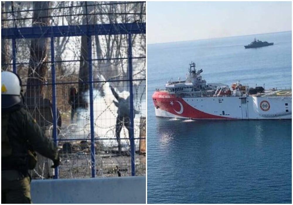 Τουρκικές προκλήσεις: Σε επιφυλακή η Αθήνα – Οι σχεδιασμοί Ερντογάν στον Έβρο
