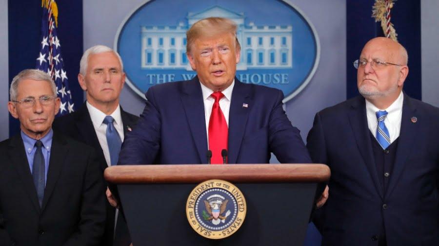 Επίθεση του κορωνοϊού στις ΗΠΑ, είναι πρώτη σε κρούσματα διεθνώς – Με καθολικό κλείδωμα οικονομίας έως -20% η ύφεση, σε δίλημμα ο Trump