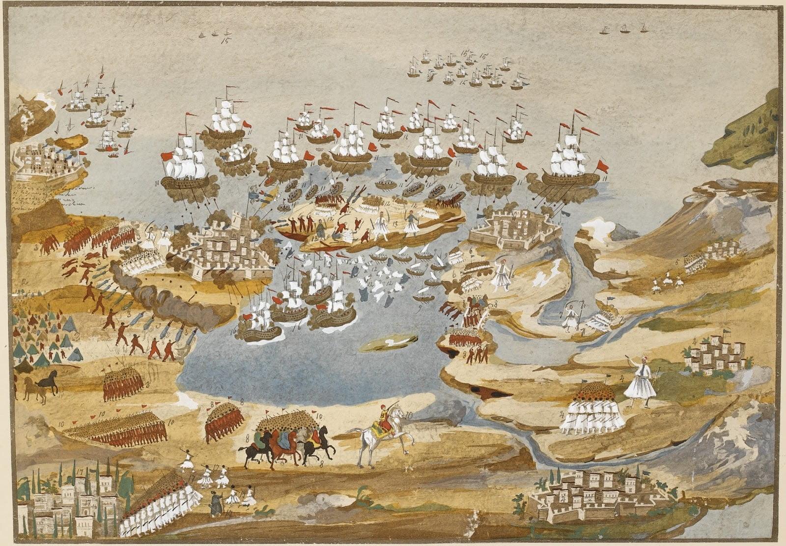 Ο όλεθρος της Σφακτηρίας και η εκδίκηση του ελληνικού στόλου στη Μεθώνη (26-30 Απριλίου 1825)