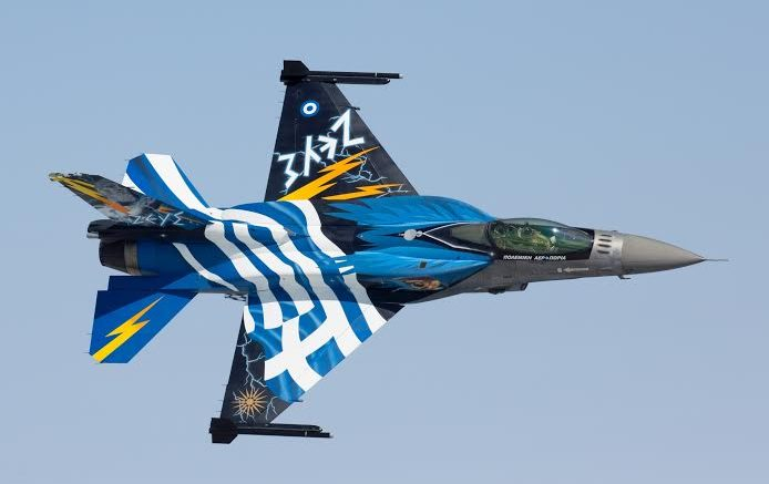 25η Μαρτίου: Με πολεμικά αεροσκάφη και ελικόπτερα θα εορταστεί αύριο η επέτειος
