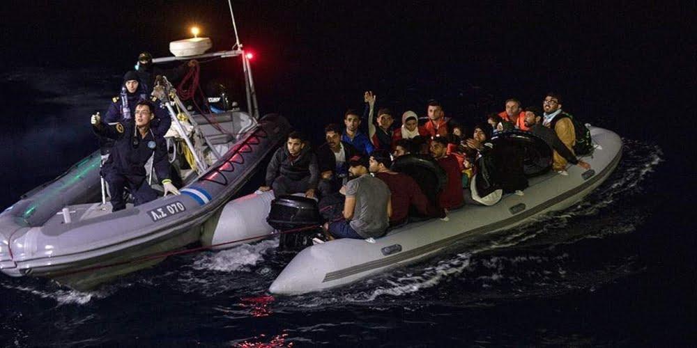 Επίθεση δουλεμπόρων με… χατζάρες, σε φουσκωτό του Λιμενικού στις εκβολές του ποταμού Έβρου!!!