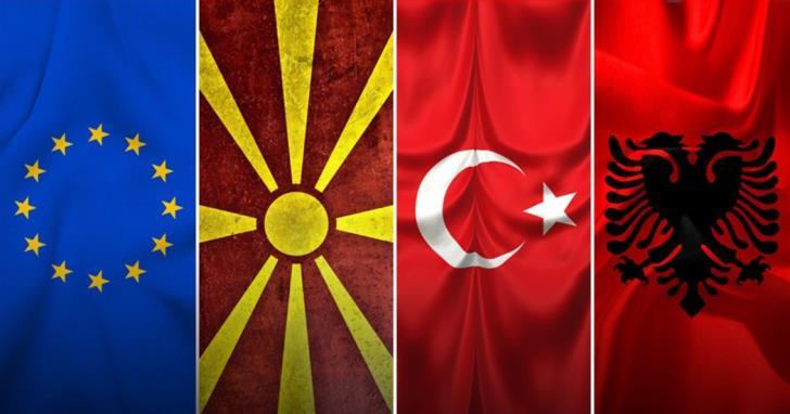 Προσπάθεια της Τουρκίας για νέο ανθελληνικό άξονα με Σκόπια, Αλβανία, Κόσσοβο