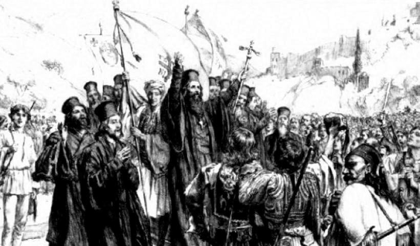 Η Επανάσταση του 1821 με σμυρναίικο λάβαρο