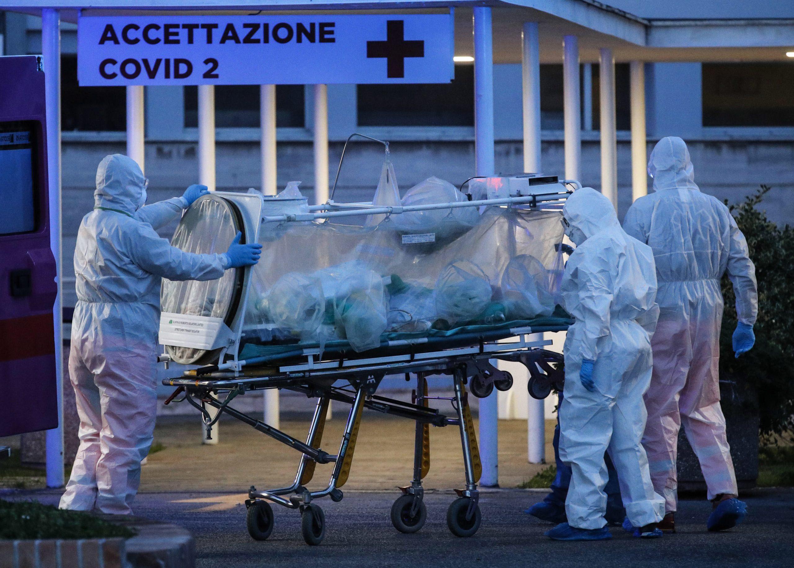 Κόλαση του Δάντη η Ιταλία: Άλλοι 627 νεκροί σε μία ημέρα από τον κορονοϊό!