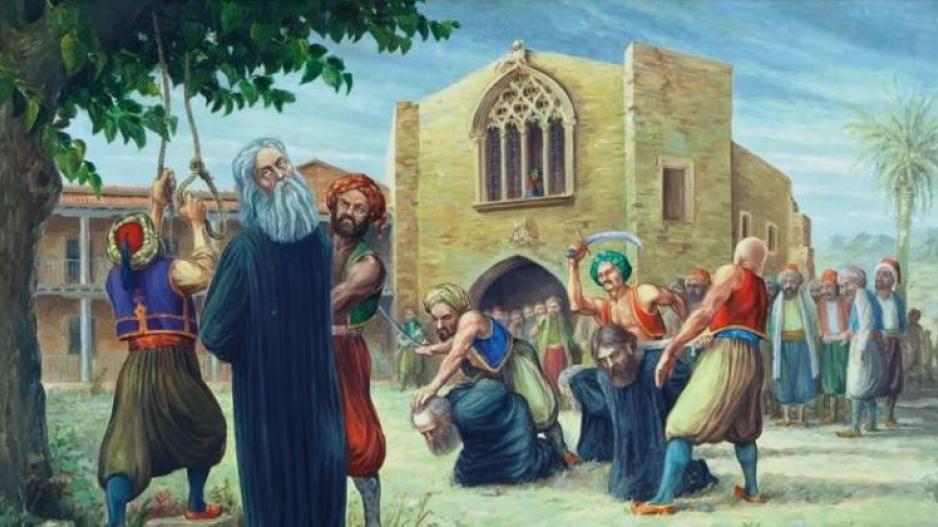 Ο απαγχονισμένος αρχιεπίσκοπος Κύπρου Κυπριανός