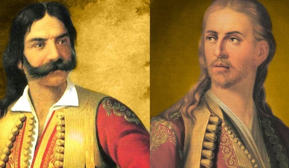 Δύο ατρόμητοι πολεμιστές του 1821