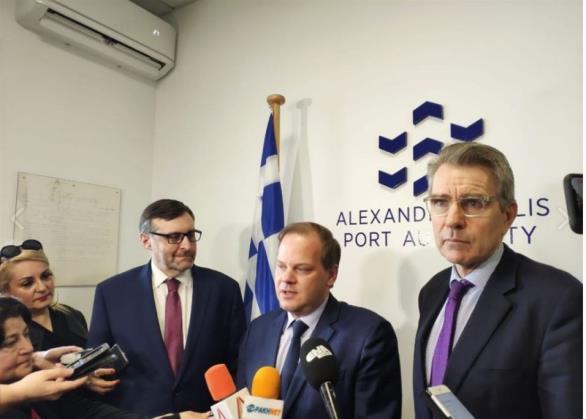 Το τριπλό μήνυμα της αμερικανικής επίσκεψης στην Αλεξανδρούπολη