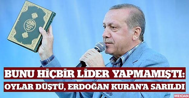 Ο Αλλάχ του να τού δίνει χρόνια στην εξουσία του Ερντογάν