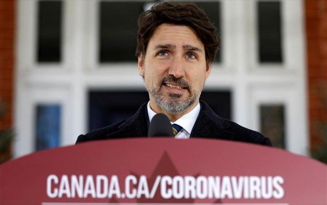 Καναδάς: Ο Τριντό αφήνει ανοιχτό να αξιοποιήσει το στρατό κατά της επιδημίας