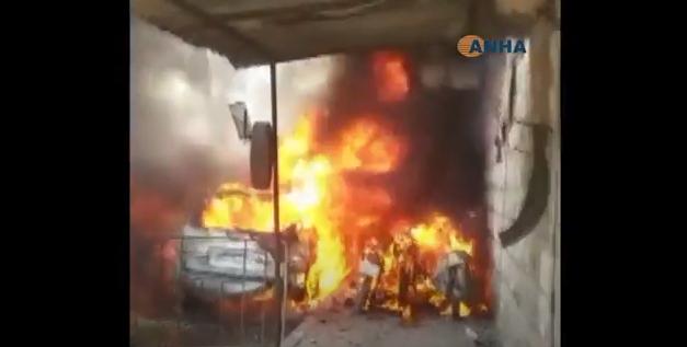 Πολύνεκρη έκρηξη στο Αφρίν – Δεκάδες νεκροί και τραυματίες