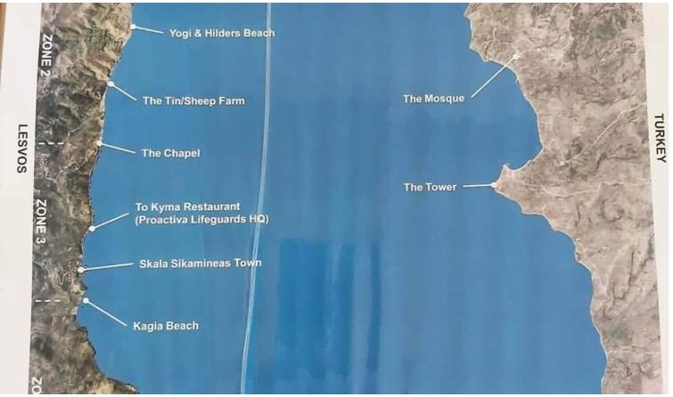 Δεν είμαστε με τα καλά μας – ΜΚΟ στη Λέσβο έκανε ειδικό χάρτη για να διευκολύνει την εισβολή των αλλοδαπών