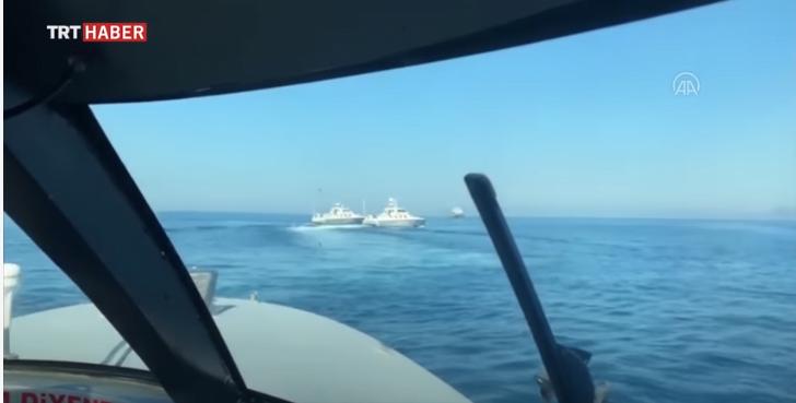 Άρχισαν τα κλαψουρίσματα οι Τούρκοι – Anadolu: Η ελληνική ακτοφυλακή εισήλθε παράνομα σε τουρκικά ύδατα – Η απάντηση του υπ. Ναυτιλίας