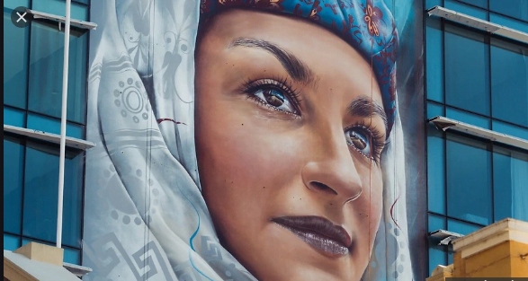 Η μεγαλύτερη τοιχογραφία στο νότιο ημισφαίριο παρουσιάζει μια Καστελοριζιά!