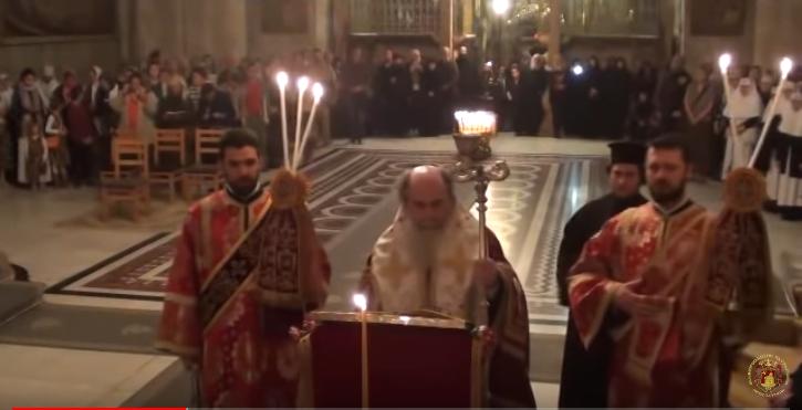 Ο Ακάθιστος Ύμνος στο Πατριαρχείο Ιεροσολύμων (2015)