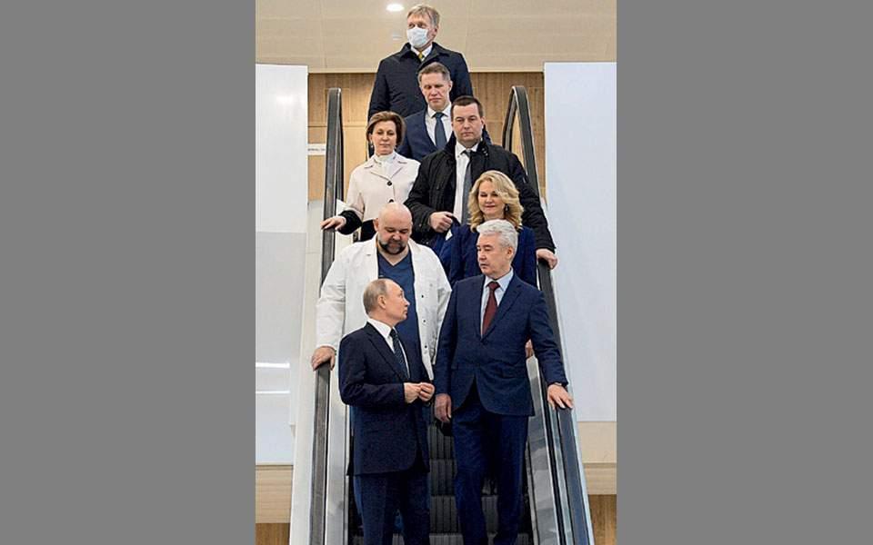 Ανησυχία για την υγεία του Βλαντιμίρ Πούτιν