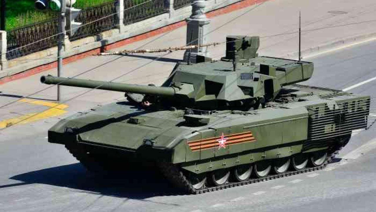 Το ρωσικό τανκ Armata δοκιμάστηκε στη Συρία
