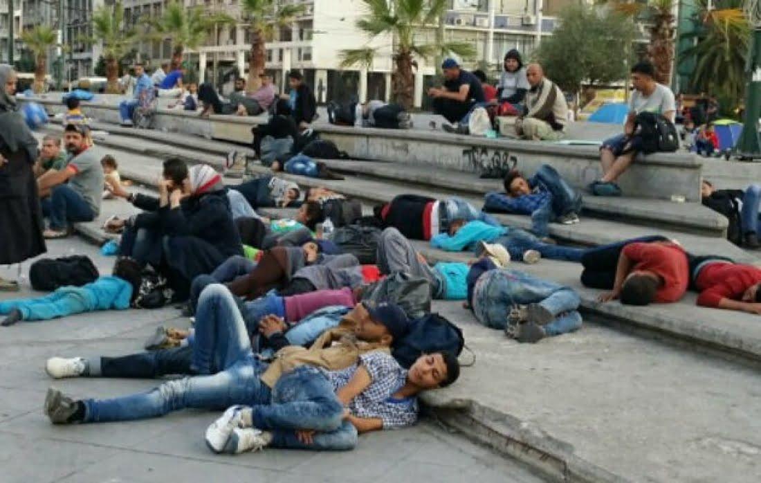 Και οι μετανάστες στο κέντρο της Αθήνας;