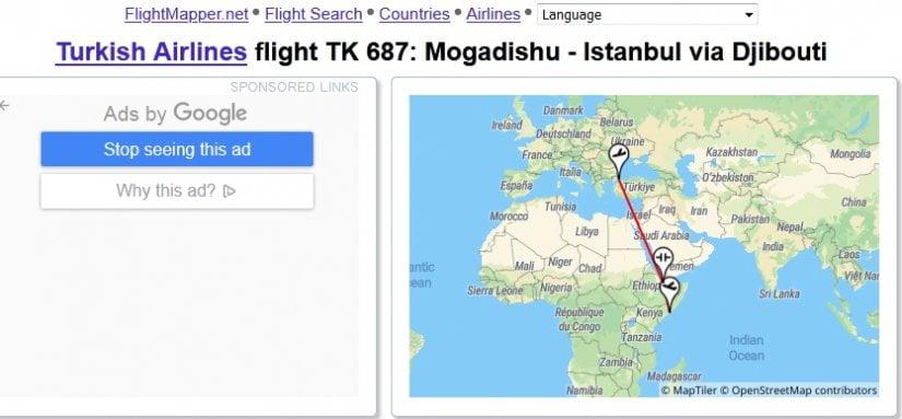Οι Τουρκικές Αερογραμμές μετέφεραν από την Σομαλία τους παράνομους μετανάστες που μόλυναν το Κρανίδι
