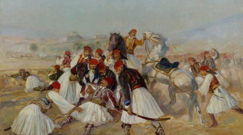 22-23 Απριλίου 1827 – Ο θανάσιμος τραυματισμός του Καραϊσκάκη στη μάχη του Φαλήρου.