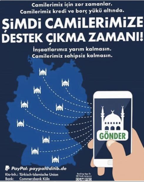 Κάλεσμα Ερντογάν στους Τούρκους της Γερμανίας εν μέσω κορονοϊού: Ώρα να σώσουμε τα τζαμιά μας