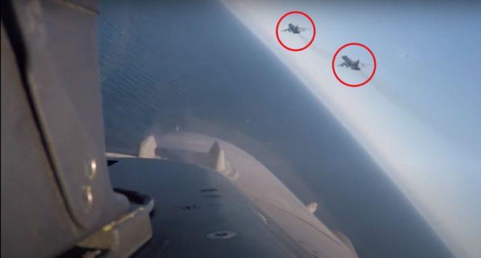 """Βίντεο με βελγικά μαχητικά F-16 σε """"αερομαχίες"""" με οπλισμένα ρωσικά αεροσκάφη πάνω από τη Βαλτική"""