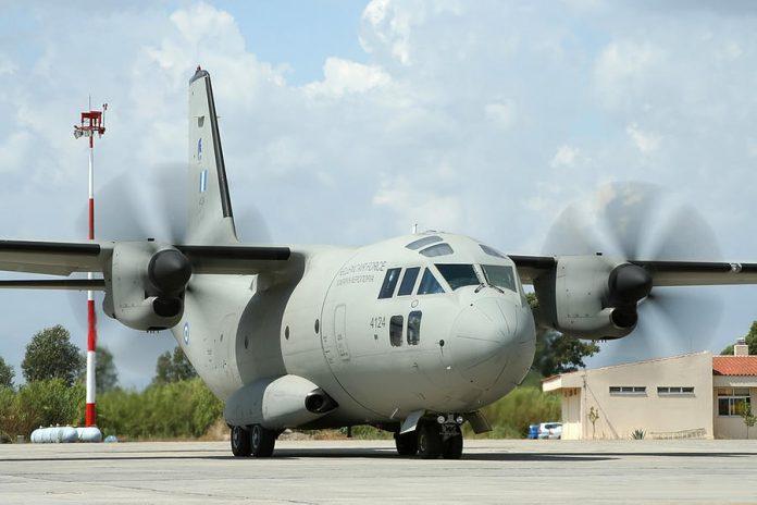 SOS για ελληνικό C-27 που παρέλαβε δύο στελέχη της ΠΑ από το Λέτσε! Ήταν θετικοί στον κορωνοϊό