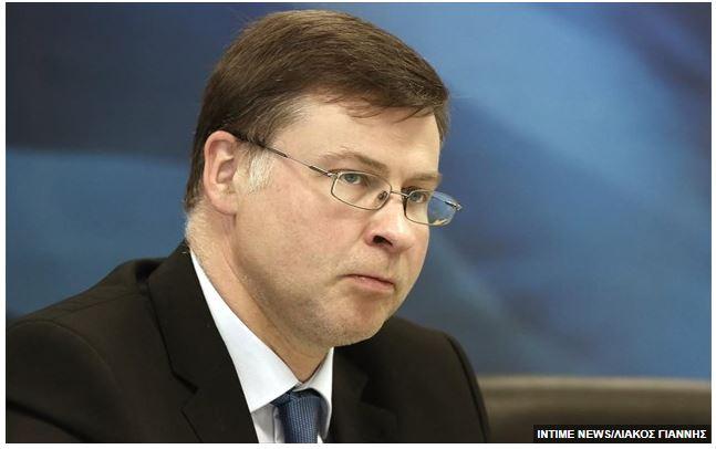 Ντομπρόβσκις: Ομόλογα 1,5 τρισ. ευρώ με κρατικές εγγυήσεις το «εργαλείο» για τη χρηματοδότηση του ταμείου ανάκαμψης