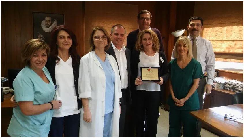 Εύγε! Βραβεύτηκε το Νοσοκομείο Βόλου για την επιχάλκωση της ΜΕΘ – Μειώθηκαν κατά 50% οι λοιμώξεις