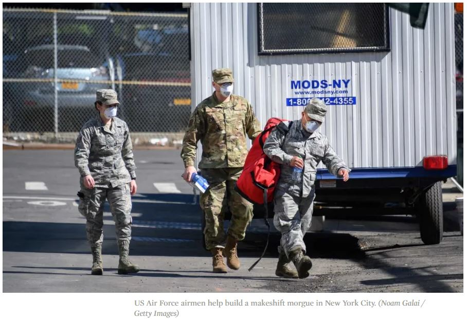 Ο αμερικανικός στρατός ήξερε ότι αργά ή γρήγορα ο ιός θα έλθει
