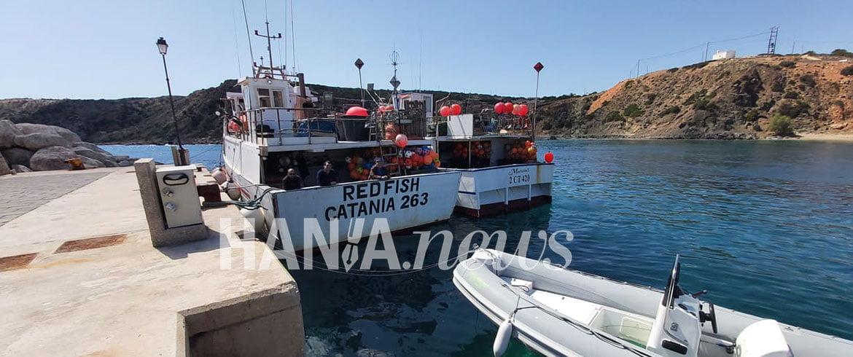 Αναχώρησαν οι Ιταλοί ψαράδες από τη Γαύδο (εικόνες)