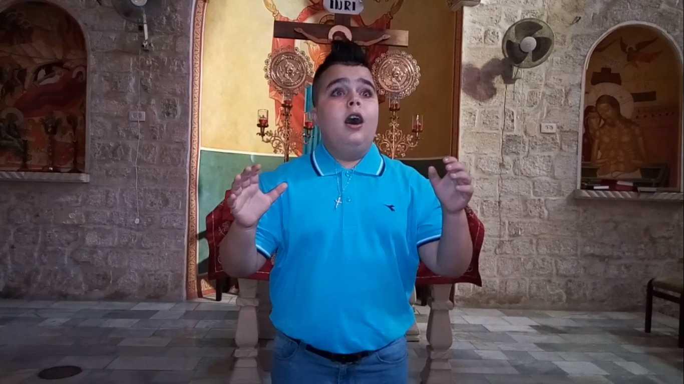 """Ακούστε τον! Σύριος Χριστιανός Ορθόδοξος ψέλνει """"Σήμερον κρεμάται επί ξύλου"""" (ΒΙΝΤΕΟ)"""