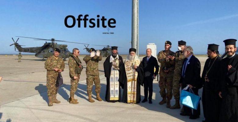 Στρατιωτικά ελικόπτερα από Λίβανο ήρθαν Κύπρο να πάρουν Άγιο Φως