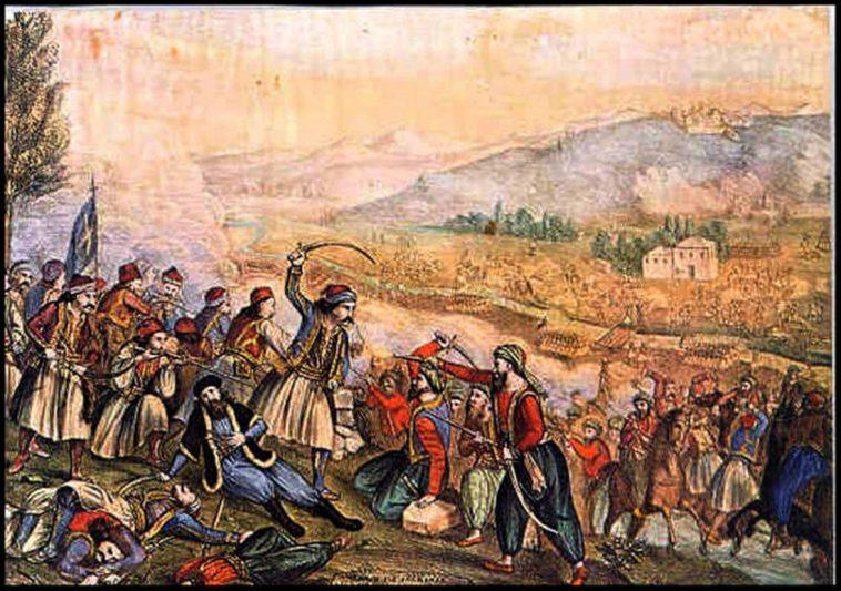 22 Απριλίου 1821: Η μάχη της Αλαμάνας και η αυτοθυσία του Αθανάσιου Διάκου
