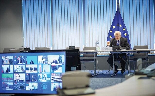 Κορωνοϊός: Συνεδριάζουν μέσω τηλεδιάσκεψης τα συμβούλια των υπουργών Δικαιοσύνης και Άμυνας της Ε.Ε.
