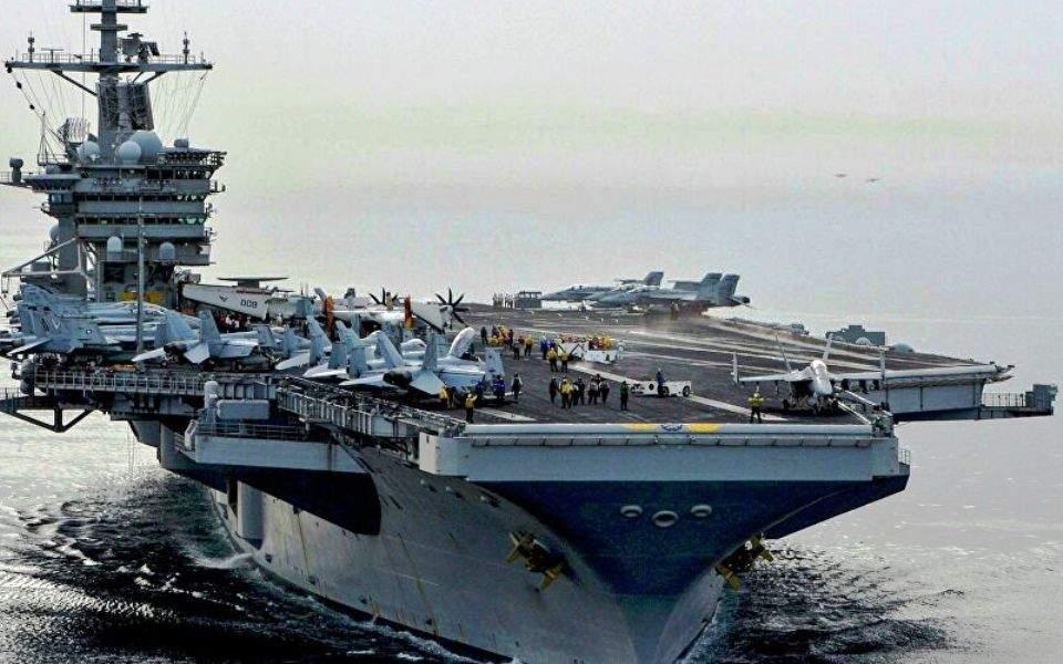 Πεντάγωνο: Δεν εκκενώνεται το αεροπλανοφόρο Roosevelt – 100 κρούσματα σε σχεδόν 5.000 ναύτες
