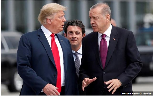 Ερντογάν καλεί Τραμπ να… κατανοήσει καλύτερα τις διμερείς σχέσεις