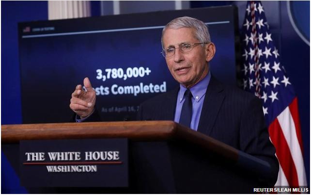 CNN: Σε καραντίνα ο επικεφαλής λοιμωξιολόγος των ΗΠΑ Άντονι Φάουτσι
