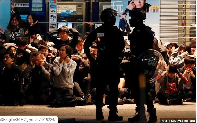 ΗΠΑ: Κυρώσεις στην Κίνα, αν καταργηθεί η αυτονομία του Χονγκ Κονγκ