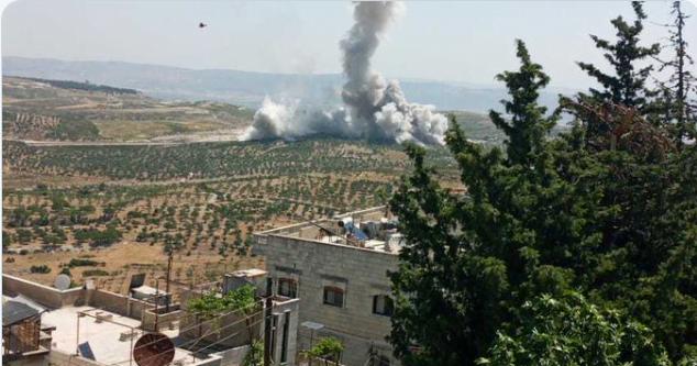 Ξανάρχισε το πανηγύρι – Ρωσικά αεροσκάφη βομβάρδισαν τουρκικούς στόχους στο Ιντλίμπ – Υπάρχουν τραυματίες