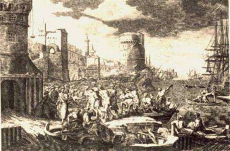 16 Μαΐου 1651: Οι γενίτσαροι στραγγαλίζουν τον Πατριάρχη Παρθένιο Β'