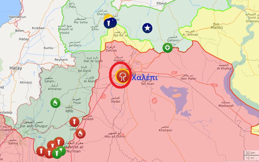 Συρία: Αεροπορική επίθεση του Ισραήλ σε ιρανικούς στόχους στο Χαλέπι