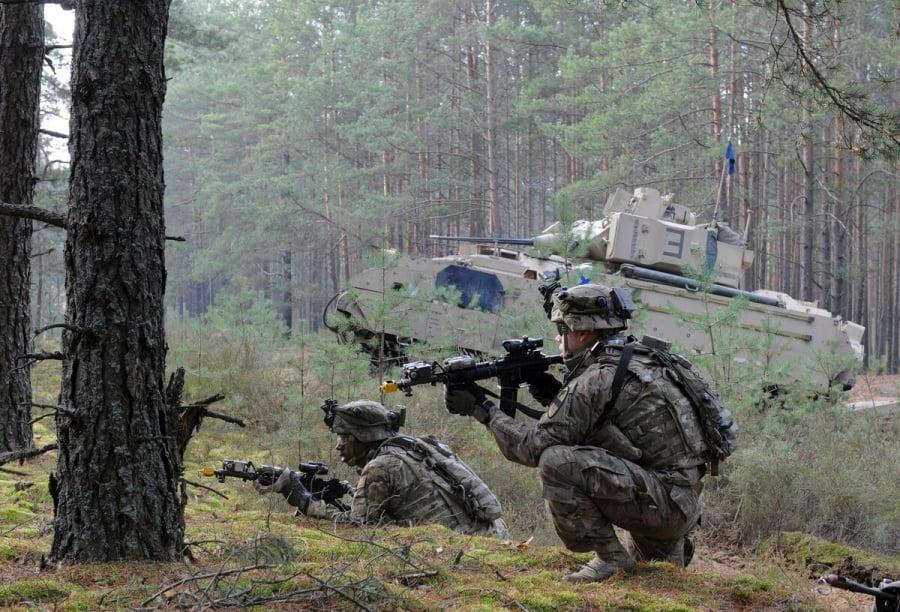 Ο αμερικανικός στρατός θα ξαναρχίσει τα στρατιωτικά γυμνάσια στην Ευρώπη