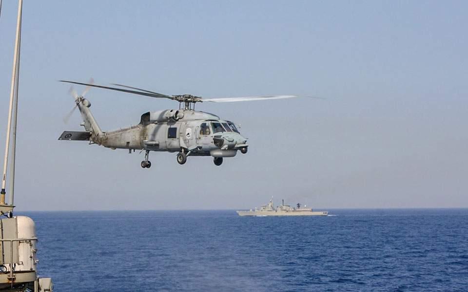 Ανανέωση στόλου Π.Ν. με τέσσερα ελικόπτερα MH-60R