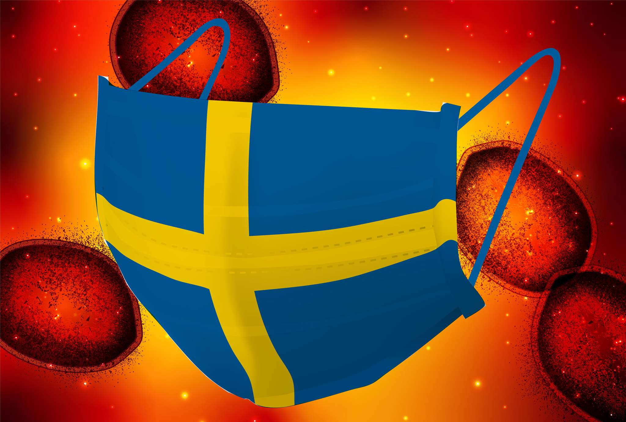 Αμφιβολίες για το σουηδικό μοντέλο κατά του κορονοϊού