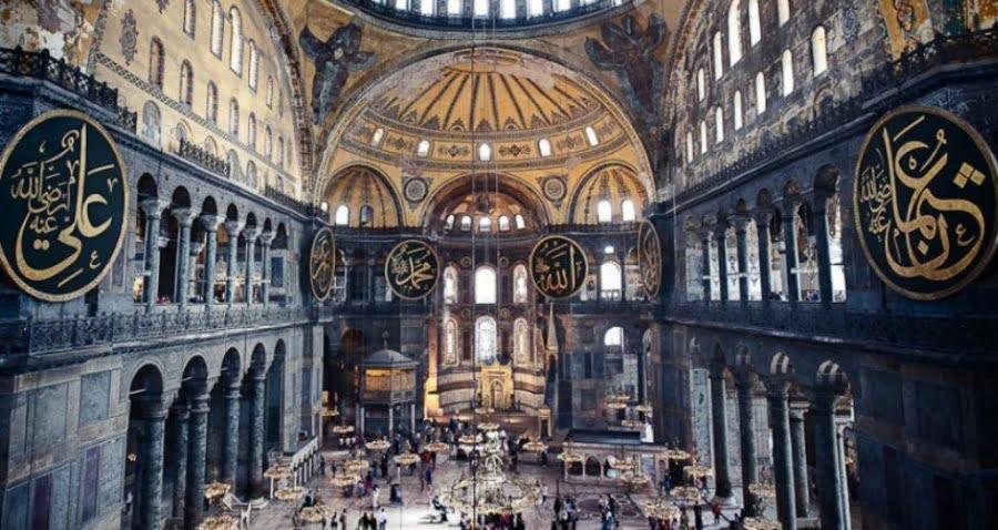 Τα τουρκικά ΜΜΕ μετατρέπουν την Αγία Σοφία σε… τέμενος – Ημερομηνία κλειδί η 29η Μαΐου
